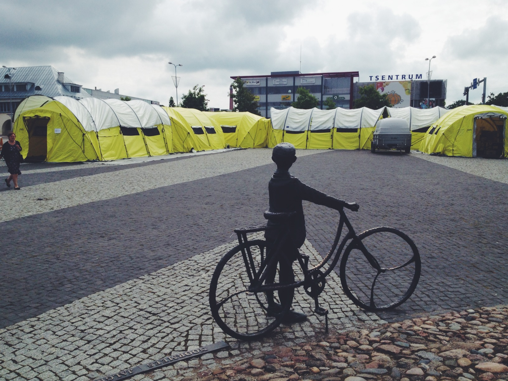 Donor tents in Estonia Rakvere